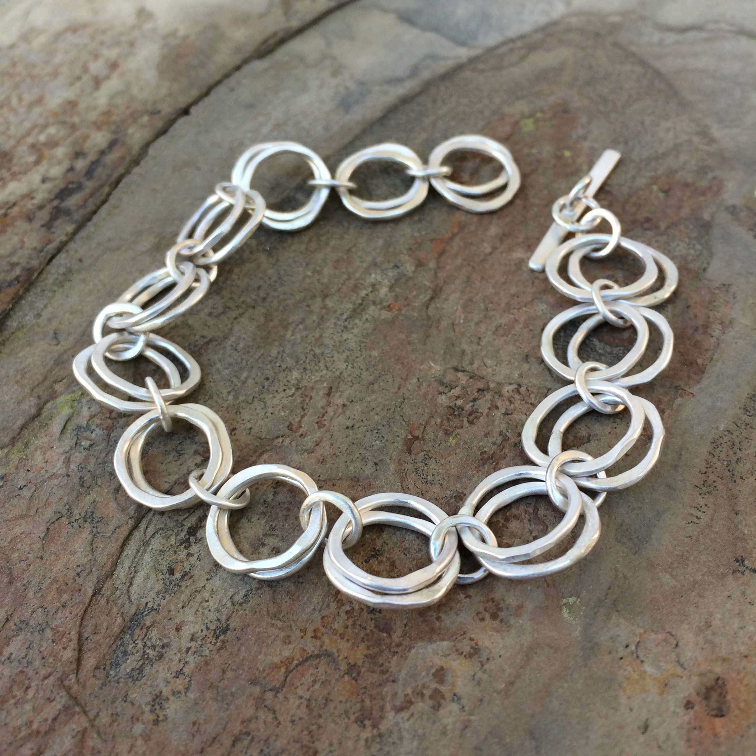 Perfect DIY Jump Ring Coil Bracelet Perfect DIY Jump Ring Coil Bracelet new images
